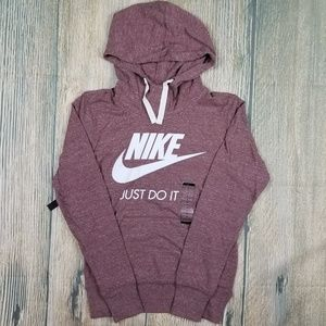 *NWT* NIKE Front Logo Hoodie